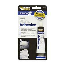 Everbuild 30ml Stick 2 Hard Plastic Adhesive