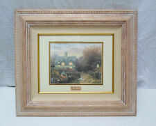 SOLD OUT & EXTREMELY LIMITED NUMBER - THOMAS KINKADE - OPEN GATE, SUSSEX  W/COA!