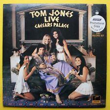 Tom Jones London Parrot DJ Live 2LP Caesar's Palace