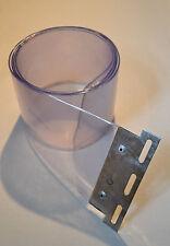 PVC Strip Curtain / Door Strip Plated 200x2mmx2,00mtr Long Replacement Strip