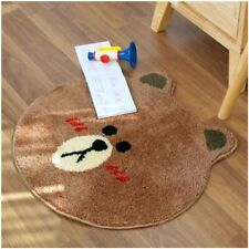 [Line Friends] Shy Brown Face Indoor Foot Mat Non-slip Bathroom Kitchen Soft Rug