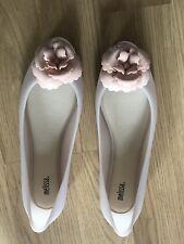 Vivienne Westwood Melissa Doll Flower Shoes Pink/Ivory UK7 EU40 US9 RRP £100