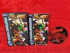 Sega Saturn LAST BRONX Boxed & Complete PAL UK