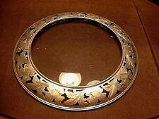Antique Victorian W. B. Durgin Heavy Sterling Silver Hanging Table Tray / Plate