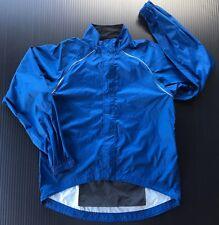 REI Men's Wind/Rain Full Zip Jacket Blue Size Large Hiking Camping Outdoors