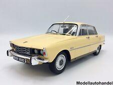 ROVER 3500 v8 RHD 1974 giallo scuro 1:18 mcg > nuove variazioni colore <