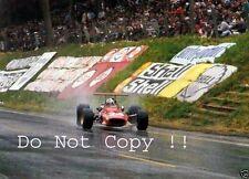 Chris Amon Ferrari 312/68 French Grand Prix 1968 Photograph