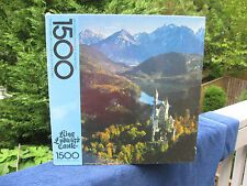 King Ludwig's Castle 1500 Piece Jigsaw Puzzle By Springbok New & Factory Sealed