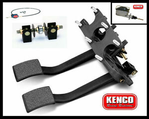 | Kenco | Brade Pedal Kit Wilwood Style Master Cylinders and Cable Speedway Car
