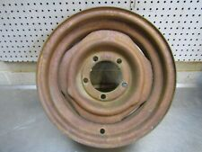 Rim 15x6 5 on 5 1/2 very solid original Fits 60's Ford Bronco Willys jeep  (TU1)