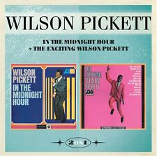 Wilson Pickett - In the Midnight Hour/The Exciting Wilson Pickett (2016)  CD NEW