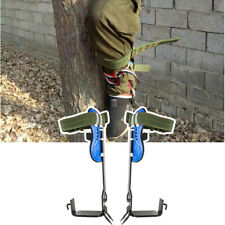 Usa New Tree Climbing Spike 2 Gears Set Safety Belt Adjustable Rope Rescue Belt