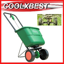 NEW SCOTTS EASY GREEN LAWN GARDEN SEED FERTILISER BROADCAST SPREADER CART