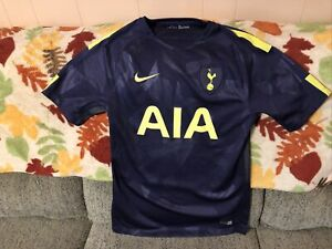 Tottenham Hotspur Nike 2017/18 Third Jersey Adult Small Purple and Yellow VGC