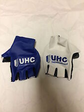 UHC Pro Cycling United Healthcare Cycling Gloves Small Blue White AERO S NEW