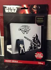 Star Wars The Force Awakens Gadget Decals iPhone iPad, Disney, The Last Jedi