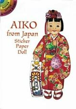 AIKO FROM JAPAN STICKER PAPER DOLL, 7-5-3 Festival kimono, wedding costume, more
