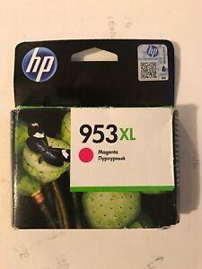 Genuine Original HP 953XL Magenta F6U17A Printer Ink Cartridge VAT.Inc - No Box