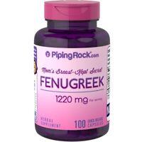 FENOGRECO - ALHOLVA - 1220mg 100cps Fenugreek ENVIO URGENTE Y GRATIS  P. Rock