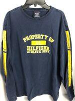 Tommy Hilfiger Long Sleeve Shirt Size MEDIUM Hilfiger Athletic Dept. 100% Cot