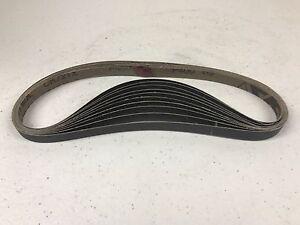 """Sanding belts 1/2"""" x 24"""" VSM-New P400 grit-10 pack"""