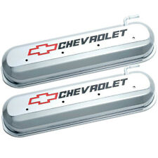 Proform 141-265 Cast Aluminum LS LS1 LSX Chevrolet Logo Valve Covers Chrome