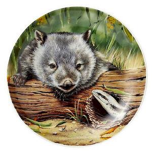Australian Souvenir Ashdene Fauna of Australia Wombat Lizard Trinket Dish Plate