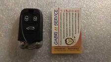 Alfa Romeo 159 BRERA Slot Key Cover Guscio Shell per Radiocomando Chiave 3 tasti