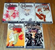 LOT of 5  (1-5) ~ D N ANGEL Tokyopop MANGA Books VOL 1 2 3 4 5 ~ YUKIRU SUGISAKI