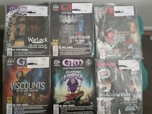 GTM Game Trade Magazine Lot Of 6