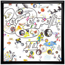 Led Zeppelin III Framed 12' LP Artwork inc. Vinyl Record