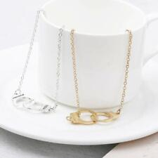 Bracelet in Silver or Gold Alloy Luxury Defined Freedom Handcuff For Ankle or