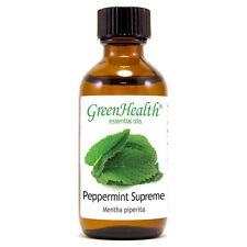 2 fl oz Peppermint Supreme (Mentha piperita) Essential Oil (100% Pure & Uncut)