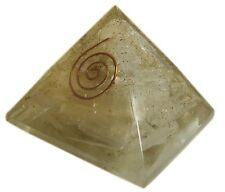 Selenite Stone Reiki Orgone Pyramid Orgonite Healing Crystal Energy Gemstones