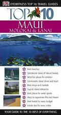 DK Eyewitness Top 10 Travel Guides MAUI - NEW