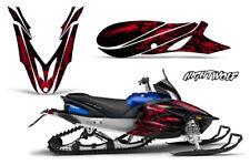 Yamaha APEX Decal Wrap Graphic Sticker Kit Sled Snowmobile 2012-2016 NIGHTWOLF R
