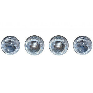 "5-3/4"" Sealed Beam Hi & Low Headlight Head Light Headlamp Bulbs 4000 & 5001 Set"