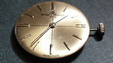 Baume Mercier Watch Movement BM775 17 Jewels Barely for repair, needs cleaning