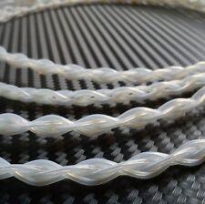 Plata Pura sólido 0.5m 0.4mm 4 Cable De Alambre litz