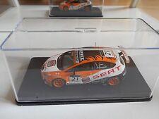 Seat Leon WTCC 2009 #21 T. Coronel in Orange/White on 1:43 in Box