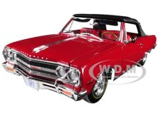 1965 CHEVROLET MALIBU CHEVELLE SS Z16 FACT OR FICTION? 1/18 BY ACME A1805306
