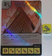 Folien S. T. A. R. Labs: Advanced Forschung 33 Green Arrow und Die Flash Würfel
