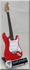 MARK KNOPFLER Miniature Guitar Dire Strait w/ Guitar Pick