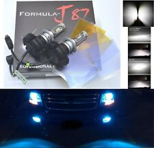LED Kit X3 50W H7 10000K Blue Two Bulbs Head Light Low Beam Replacement Lamp Fit
