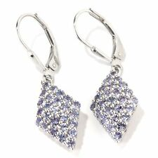 1.65 Ct Tanzanite Lever Back Earring