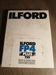 Ilford FP4 4x5in Film x25