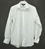 Nicole Miller NY Men's Large 16  32/33 Modern Fit Long Sleeve Button Up Shirt