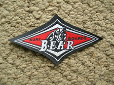 Vintage bear 1970s surfing film surfboard jacket patch big wednesday surf movie