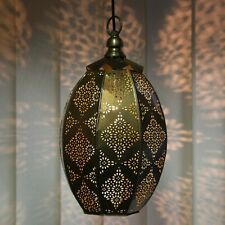 Moroccan Light Hanging Lamp Ceiling Fixture Lamps Turkish Lamp Flower Vintage
