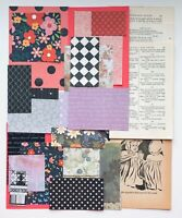 Paper Collage Art Supply, 60+items, Vintage Book Pages, New Papers For Paper Art
